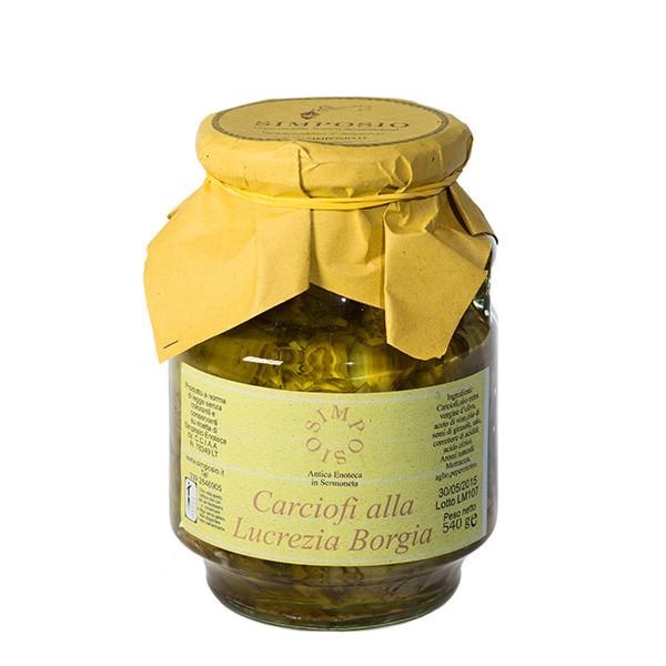 Simposio - Carciofini Lucrezia Borgia