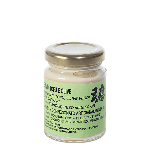 Tofu Bio Otani - Crema tofu olive